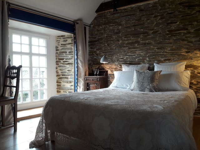 Manoir de Barbotin. La Suite Verte - Ploërmel - Appartement