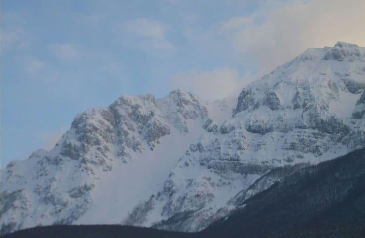 Neve sulle Dolomiti d'Abruzzo - Secinaro