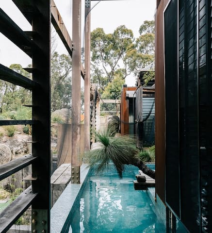 "Grand Designs Property ""Eco Bush Retreat"""
