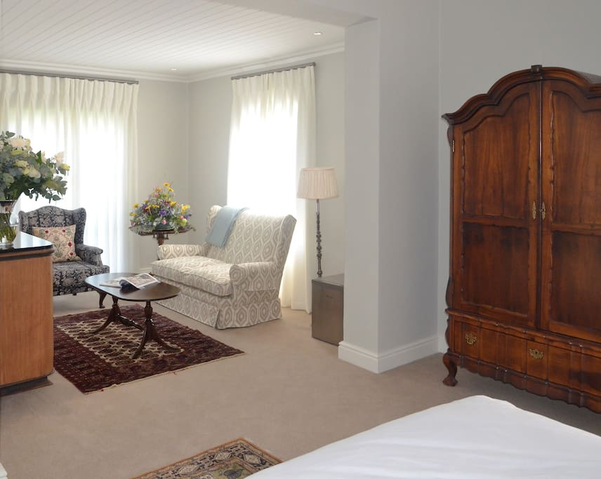 Private Lounge and Antique Wardrobe