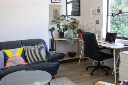 Sleek, Stylish Loft Apartment
