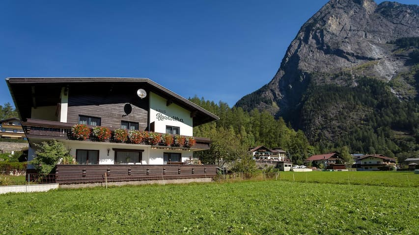 Haus Roswitha: great family holidays in Oetztal