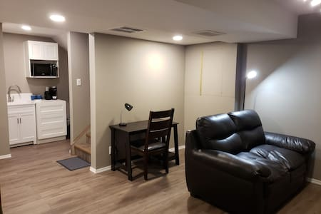 1 Bedroom basement suite in Leduc.