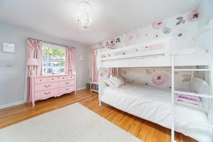 Bunk Room with Full Use of Dresser and Closet