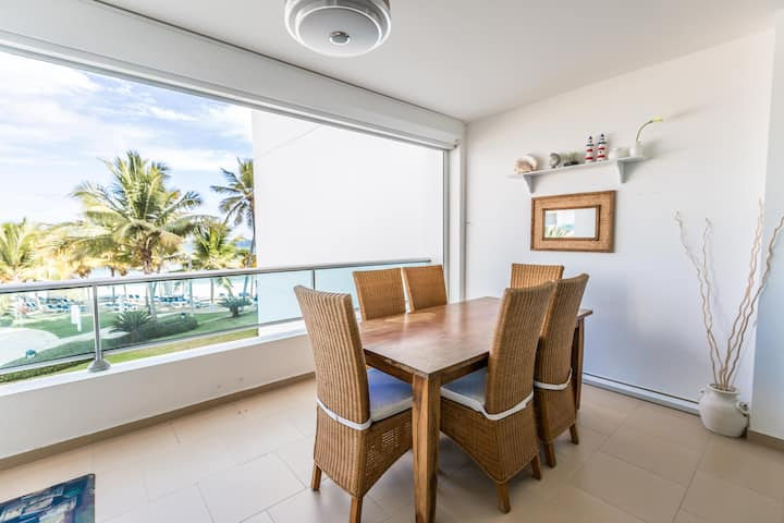 Fully Equipped 2BR Condo at the Beach