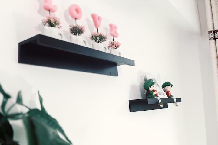 沙坪坝融汇温泉城精品温馨一房公寓 - Chongqing - Byt
