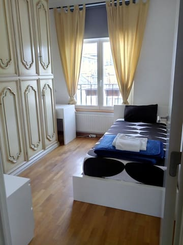 Single bedroom in Spacious central Apartment