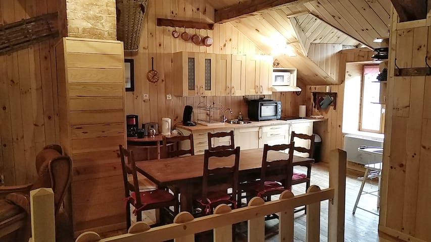 LE XOULCES  AMBIANCE CHALET