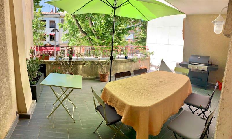 Studio avec terrasse en plein coeur de Martigues
