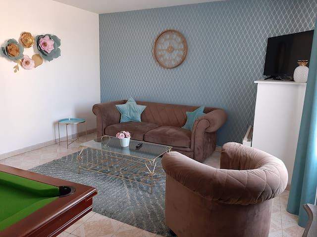 Petite maison de ville tout confort