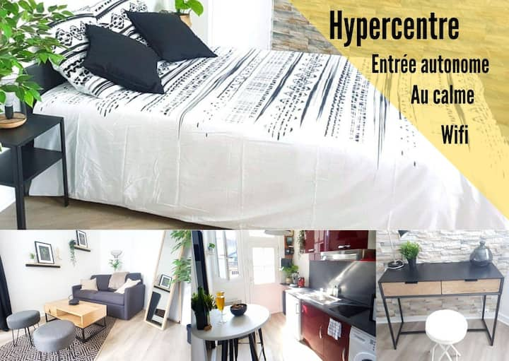 ⭐ Charmant studio en hypercentre ⭐