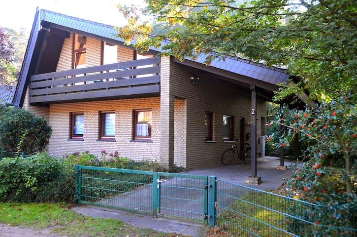 Ferienhaus an der Ems-Fähre Rheine - Rheine - House