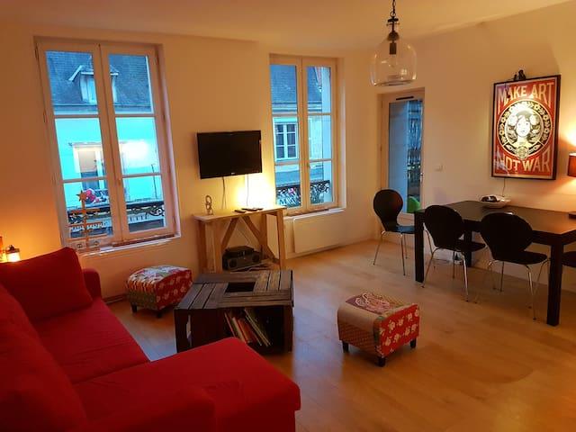 Bel appartement avec terrasse centre ville