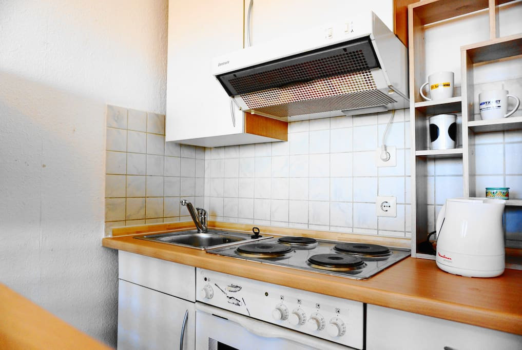 In the full-equipped kitchen you´ll find all that you need for the preparation of home-cooked meals.