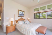 With wrap around windows, guest can also enjoy views of the West Maui Mountains