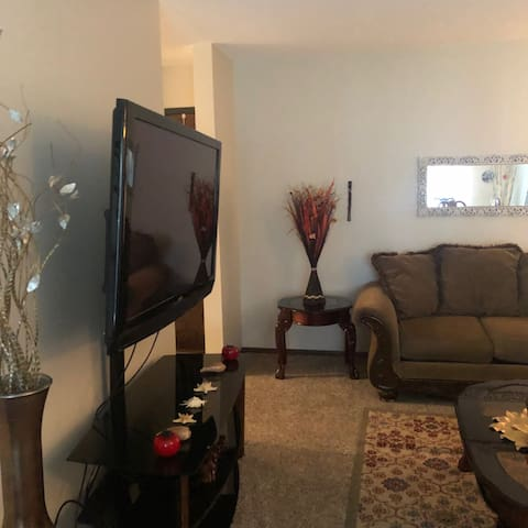 One bedroom entire apartment centrally located