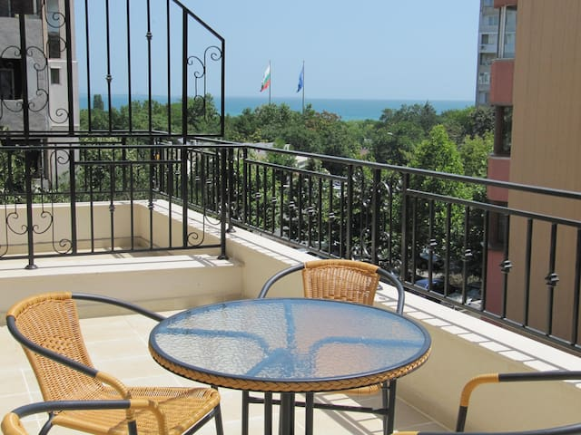 STUDIO  vith sea view FLORA 41-3 - Burgas