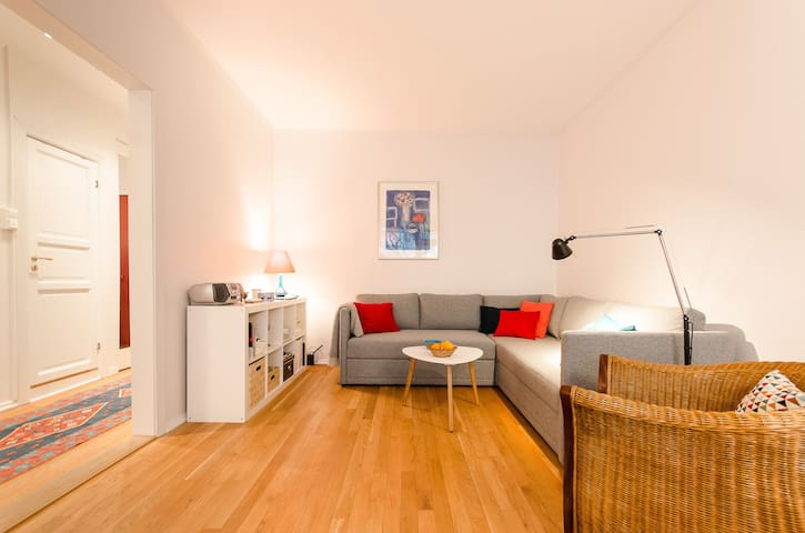 *Super central, cosy apt at Majorstua w/balcony!* - Oslo - Apartament