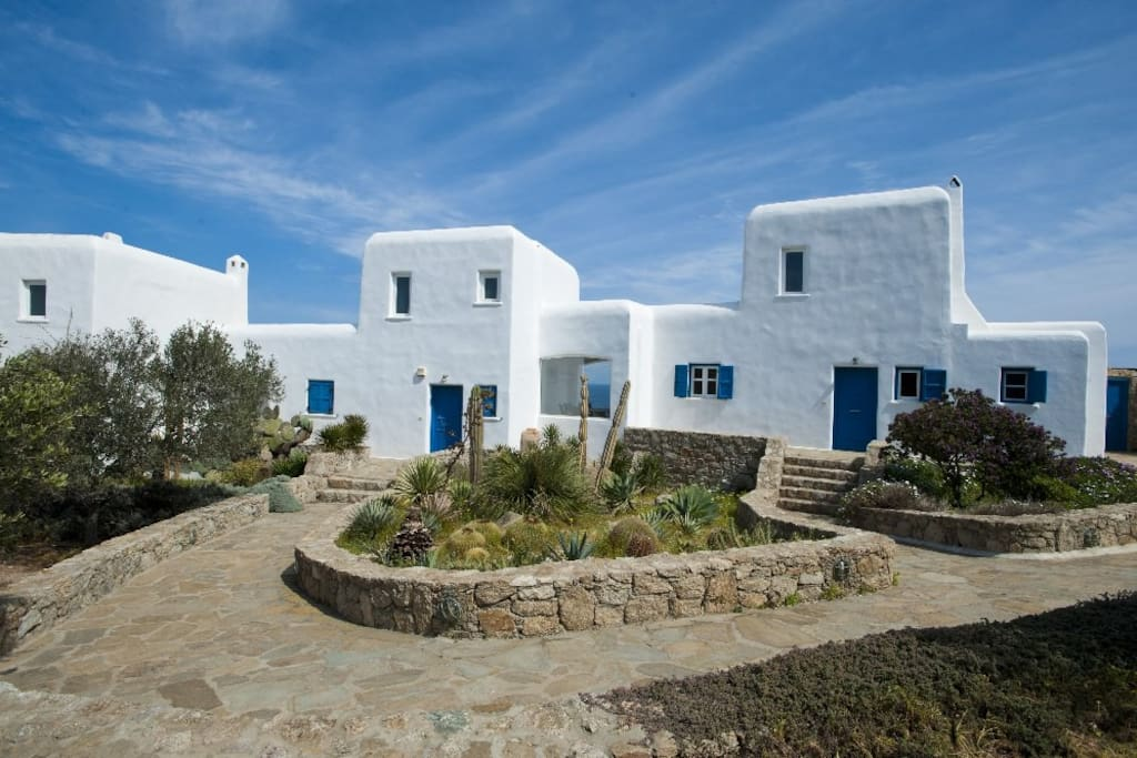 Authentic Cycladic architecture