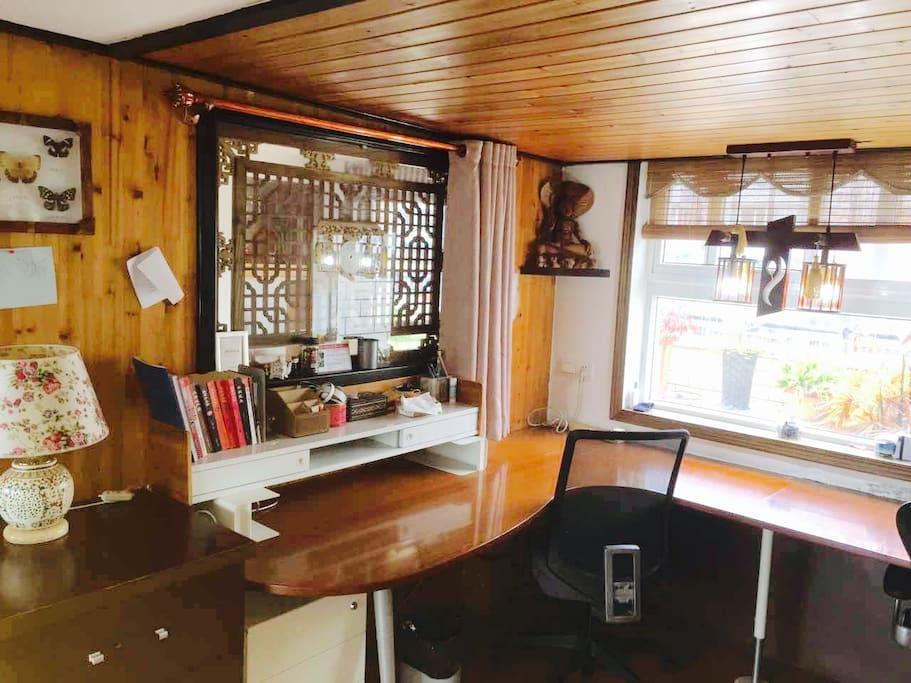 楼上日式禅房常日式书房