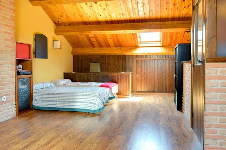 Alojamiento en vivienda unifamiliar - Zaragoza - Rumah