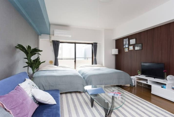 Great Access*1min walk to sta Near Tokyo Tower#902