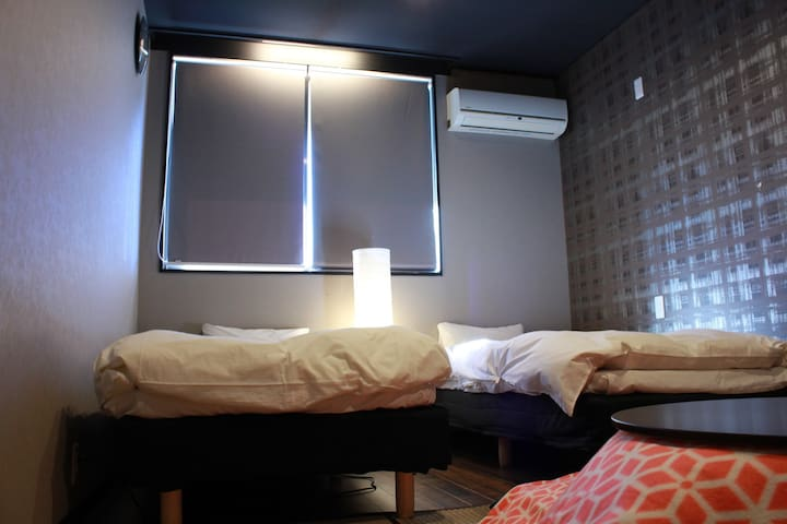 Private Room (2 beds,2 futons 13㎡)