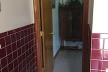 Doorway to bedroom