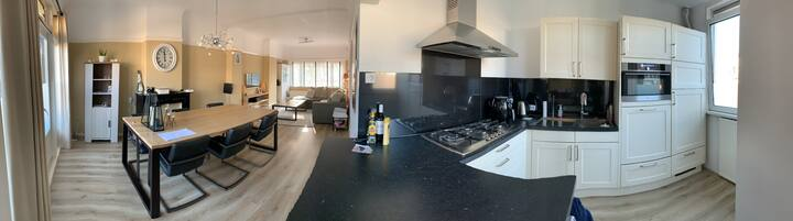 Seven room apartment (15 min. from Songfestival)