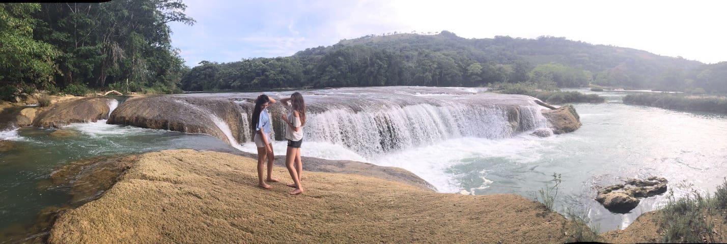Hacienda Las Cataratas - Bungalow Guayacán - Palenque