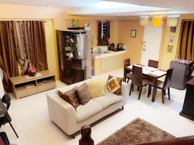 Fully Furnished House Private Subd.(Near Gate) 3Br
