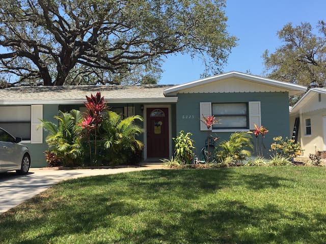 St. Pete Paradise- 2 bedroom home