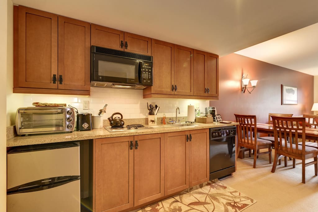 Galley kitchen with all you need