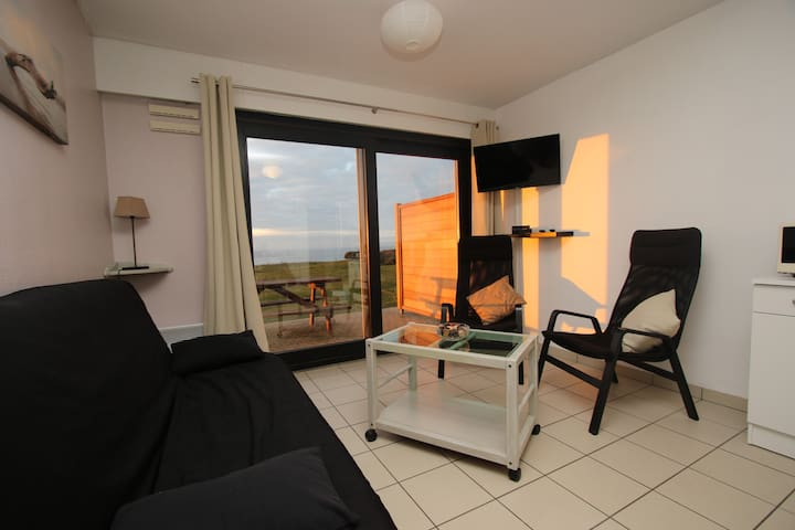 Appartement vue mer - Wifi Parking - Wimereux - Huoneisto