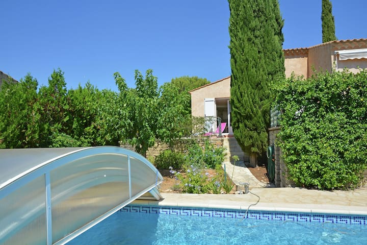 Beautiful holiday house with airco and private pool near Uzès