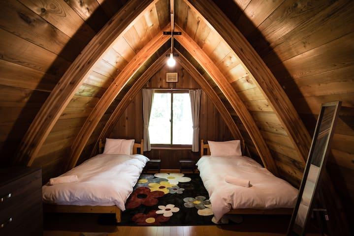 Yuki Ita Lodge near Echo Land HAKUBA - Hakuba-mura - Houten huisje