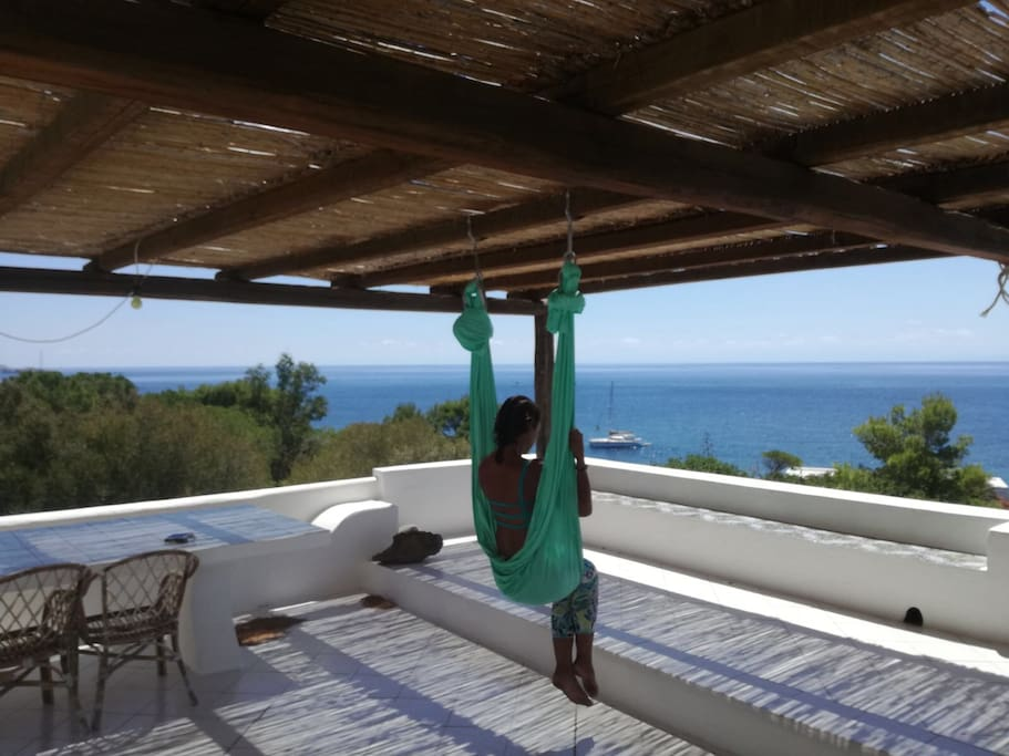 Sky Yoga Classes for all the ages on the Terrace