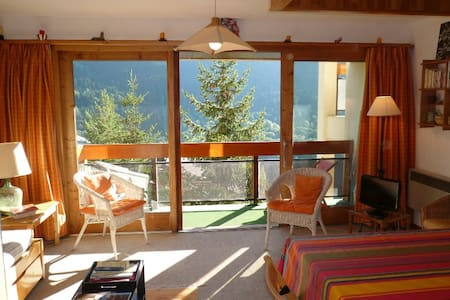 2 rooms apartment 4 persons in Meribel in the area of Morel close the chairlift departure