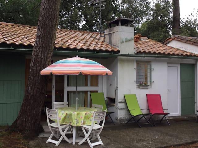 Maison dans une pinède - Meschers-sur-Gironde - Huis