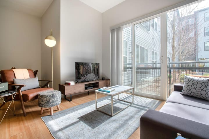 Modern South Boston 1BR w/ Gym, W/D by Seaport & Lawn on D by Blueground