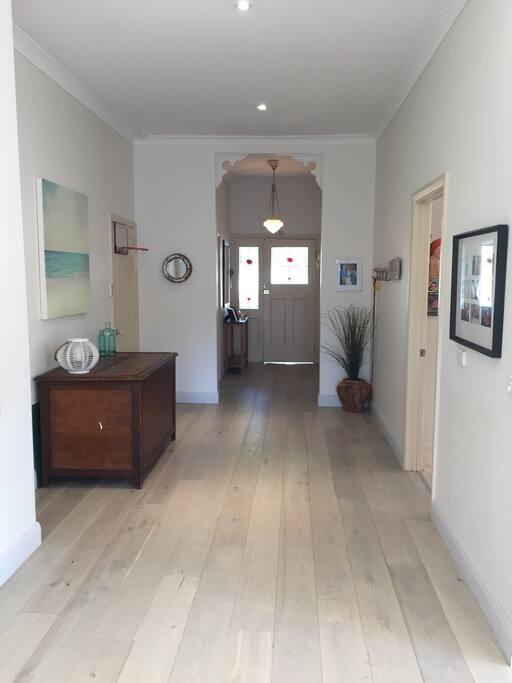 Lovely wide hallways