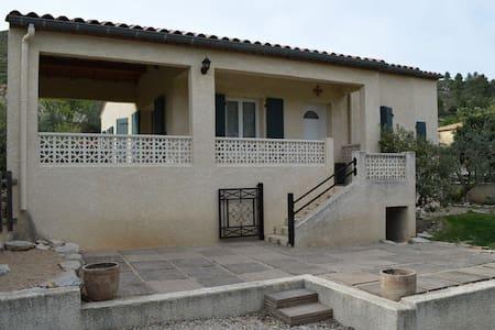 Villa de plain pied avec 3 chambres - Saint-Jean-de-Fos - 独立屋