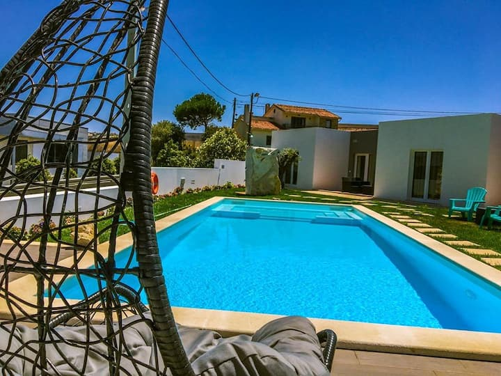 House with 3 bedrooms in Atalaia, with shared pool, enclosed garden and WiFi - 3 km from the beach