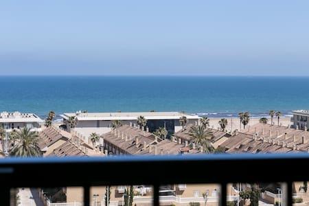 ApartUP Patacona Horizon. WiFi + Pool + PK + AACC - Alboraya - Huoneisto