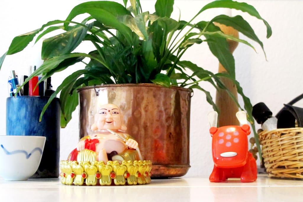 Buddha byder velkommen
