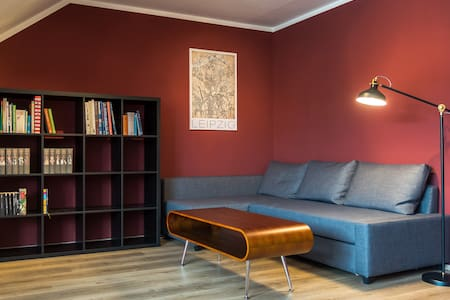 Cozy roof apartment - central location & Netflix