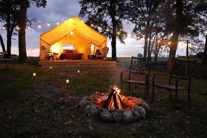 Wood Guest Ranch, Glamping