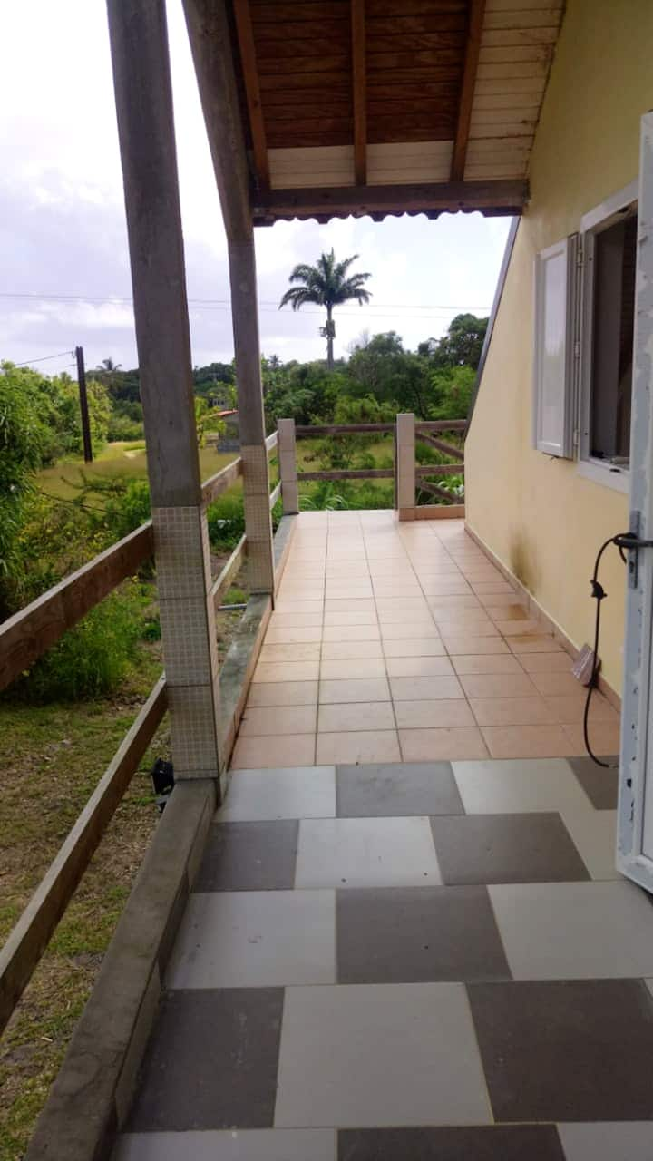 Apartment with one bedroom in Capesterre-de-Marie-Galante, with furnished garden and WiFi - 4 km from the beach