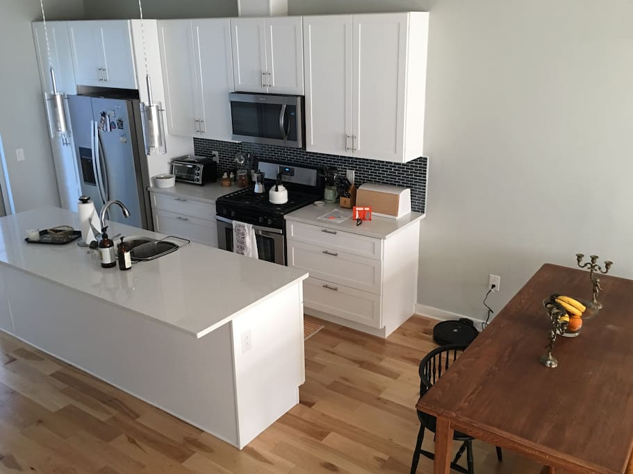 fully and brand new equiped kitchen