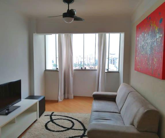 Apartamento em Moema-SP 1 Quarto 2 Banheiros